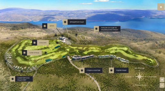 1. Интерактивна карта - Okol Lake Park